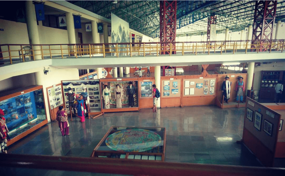 View of the museum from third hall